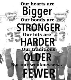 Football, Friday night lights, football slogans, football sayings ...