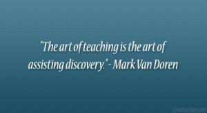 Mark Van Doren Quote