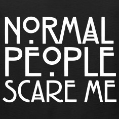 Scary Quotes To Scare People Quotesgram