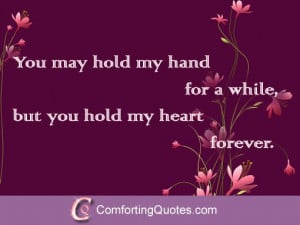 You Hold my Heart Quotes