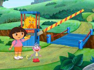 Dora the Explorer Troll Bridge
