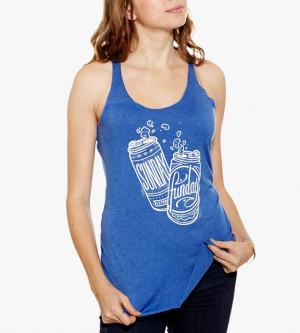 Sunday Funday Drinking Women's sunday funday beer