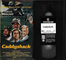 ... CHEVY CHASE, RODNEY DANGERFIELD, TED KNIGHT, BILL MURRAY VHS LIKE NEW