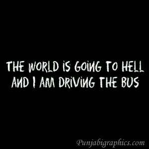 Funny Quote: Going To Hell