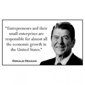... > Wall Art > Posters > Ronald Reagan Quote #1 Wall Art Poster