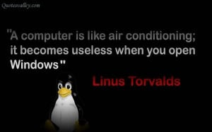 Computer Is Like Air Conditioning