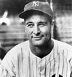Lou Gehrig's wife,