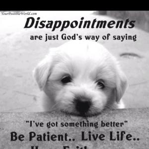 tough lesson in life
