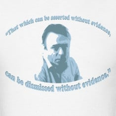 christopher hitchens quote designed by smart apparel