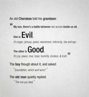 Good Vs Evil Quotes