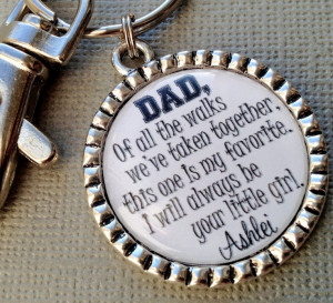 FATHER of the BRIDE gift- PERSONALIZED - walking daughter down aisle ...