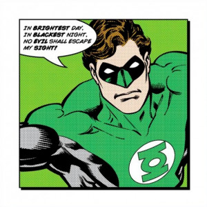 Green Lantern Brightest Day Art Print Poster