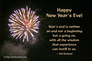 New Year's Eve Quotes