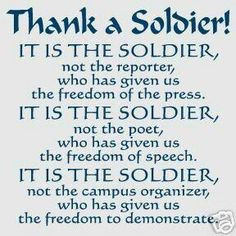 Our Soldiers - support them