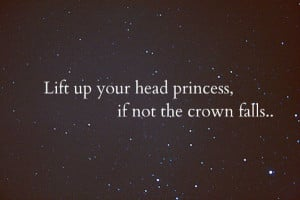 Always remember to keep your head up!