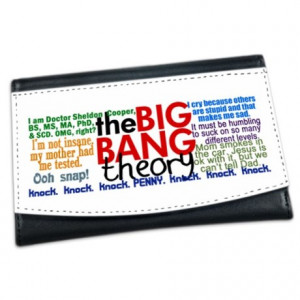 Big Bang Gifts > Big Bang Wallets > Big Bang Quotes Mini Wallet