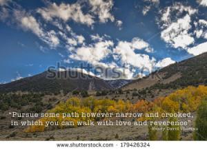 fall season with a quote by Henry David Thoreau. Henry David Thoreau ...