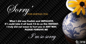 20 Sweet Sorry quotes - Nice Quotes to say sorry to someone you care