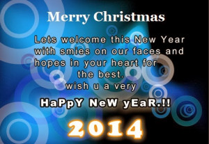 Merry Xmas and New Year 2015 Blessings Messages in Advance for Lover