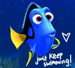 ellen dory finding nemo 2 oPt Finding Nemo Quotes Dory Just Keep ...