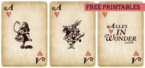 Alice in Wonderland Free Printables for the DIYer in you ...