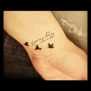 3 word quotes for tattoos quotesgram for Quote tattoo placement