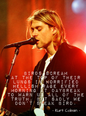 nirvana quotes on Tumblr | We Heart It