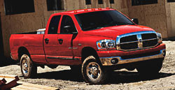 The new 2006 Dodge Ram Truck comes with a sleek new design for the ...