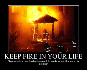 Motivational and Demotivational Fire & EMS Posters