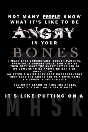 Angry In Your Bones by vertigoevie