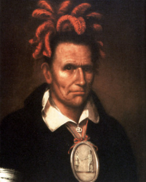 Portrait of Red Jacket,