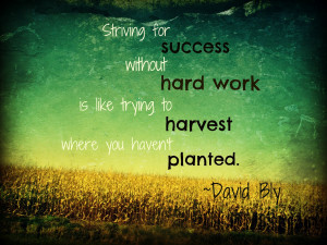 ... hard work quotes. They inspired me and I hope these quotes about hard