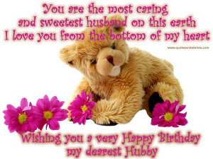 BIRTHDAY QUOTES FOR HUSBAND