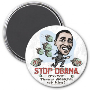 Women Against Obama Fridge Magnet