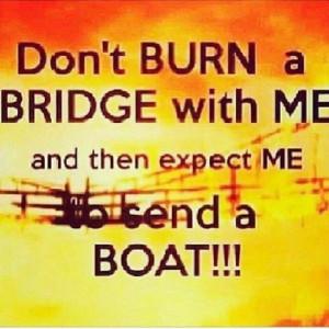 Don't burn