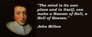 John milton famous quotes 1