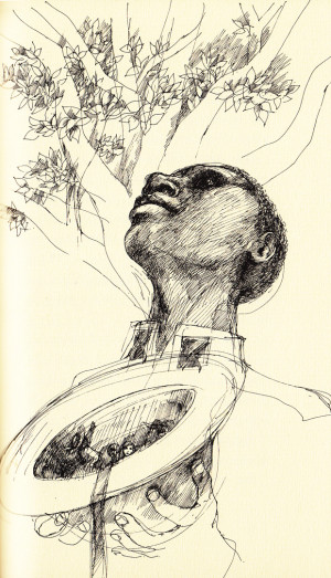 Illustration from William Faulkner's 'The Wishing Tree.' Click image ...