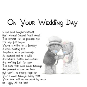 ... poems This page has the widest range of wedding love and quotes