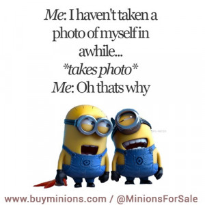 Forever alone… #ugly #me #life #minionquote