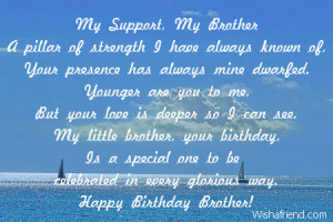 In Loving Memory Quotes For Brother: Brother Birthday Poems,Quotes