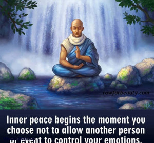 ... You Choose Not To Allow Another Person Or Event Control Your Emotions