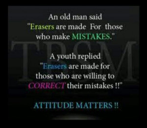Your attitude matters!