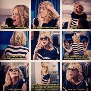 Bridesmaids Movie Quotes Airplane Scene