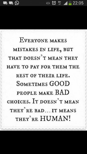 mistakes Good people bad choices