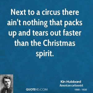 Kin Hubbard Christmas Quotes