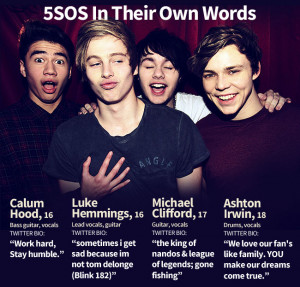 One Direction picks Australian band 5 Seconds Of Summer as support act ...