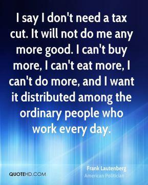 Tax Cut Quotes
