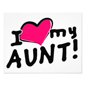 I Love My Aunt Quotes QuotesGram