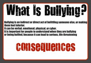 Bullying - Stop the Bullying - Bully quotes - Anti Bullying -Bullies ...