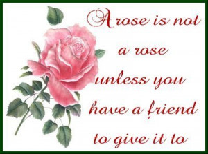 Being Nice Friendship Quote !